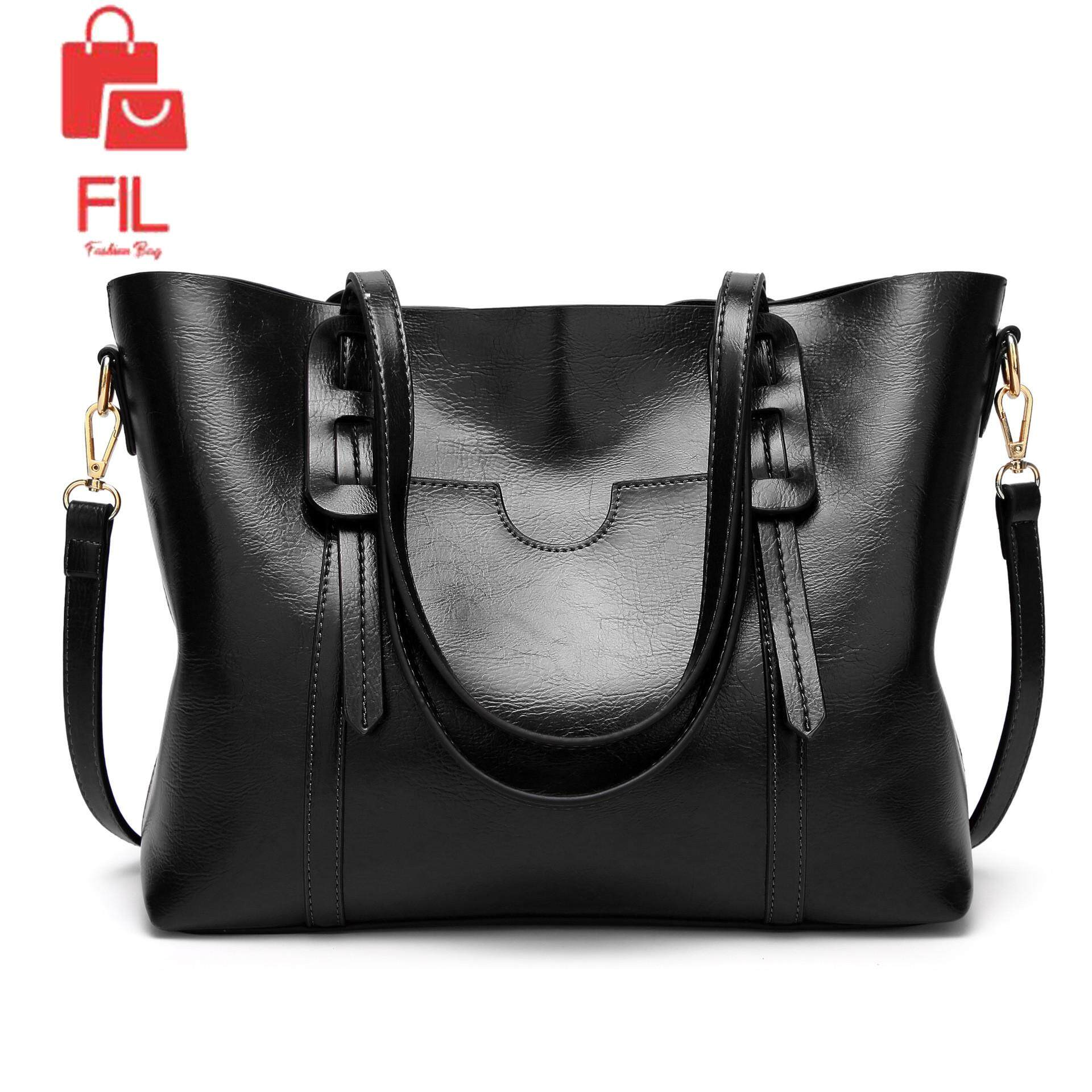 364f1495a2e Free Shipping-Women s Vintage Style Soft Leather Work Tote Large Shoulder  Bag