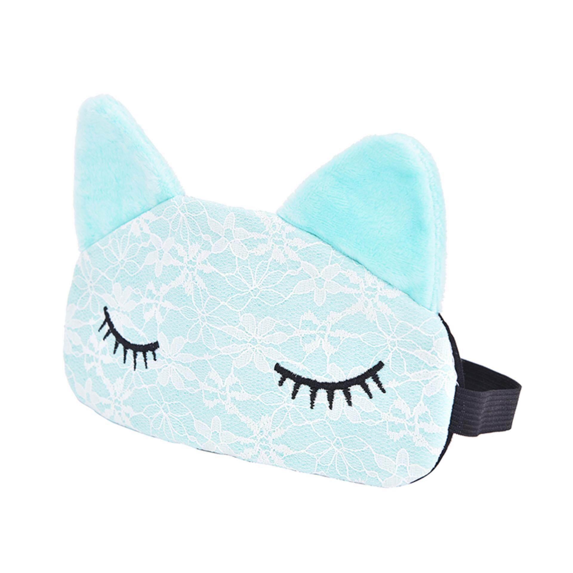 Masker Mata Penutup Mata Perjalanan Tidur Tidur Tudung Penutup Lembut Istirahat Empuk Membantu Bersantai Pink