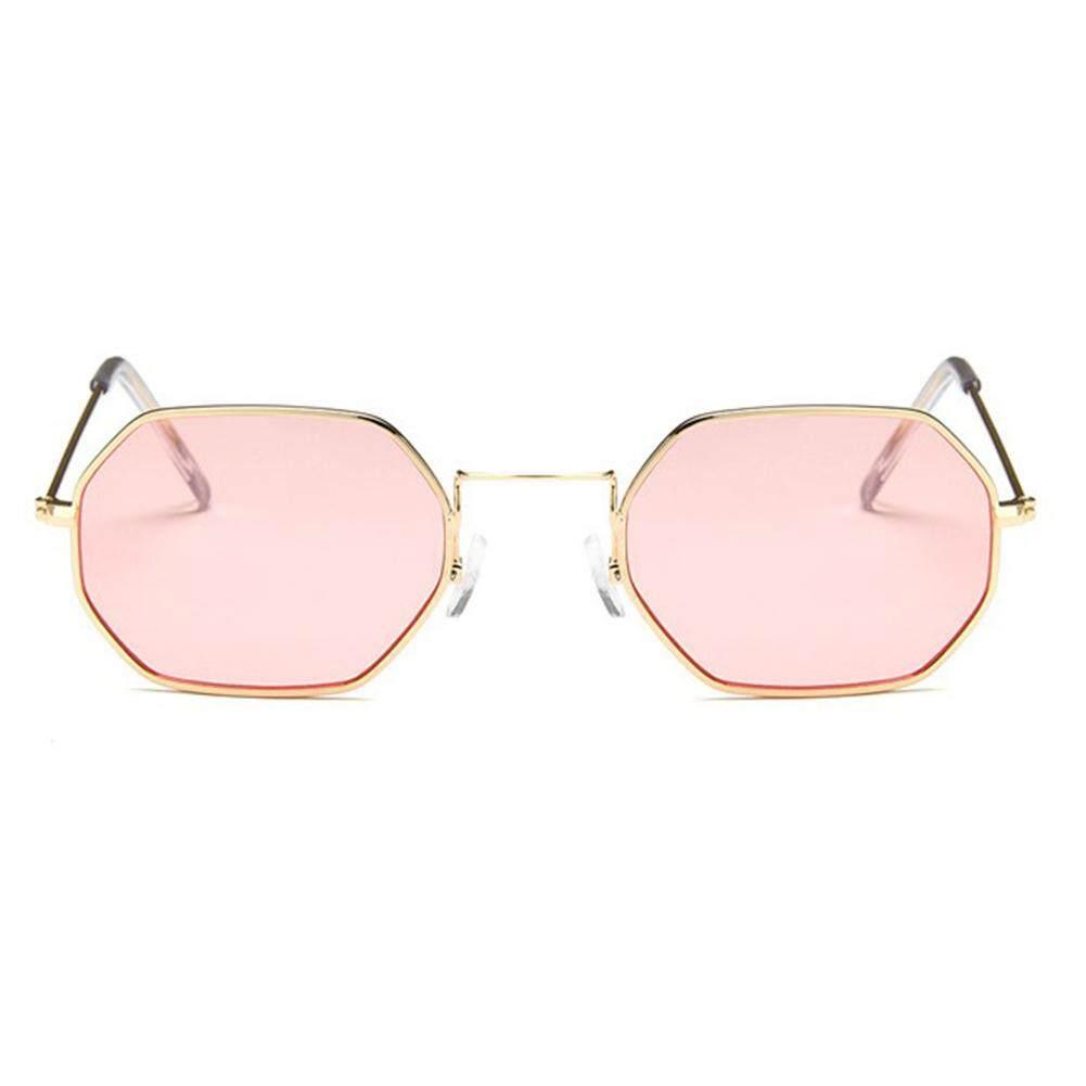 Qimiao Stylish Warna Film Kacamata Hitam Persegi Kacamata Mengemudi untuk Snap Jalan Hadiah .