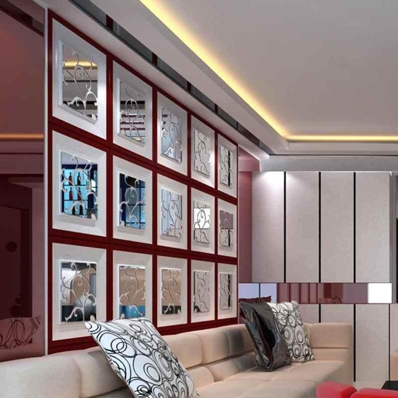 Detail Gambar Dxy 32X Cermin Stiker Bunga Stiker Dinding Buat Sendiri Yang Dapat Dilepas Rumah Dekorasi