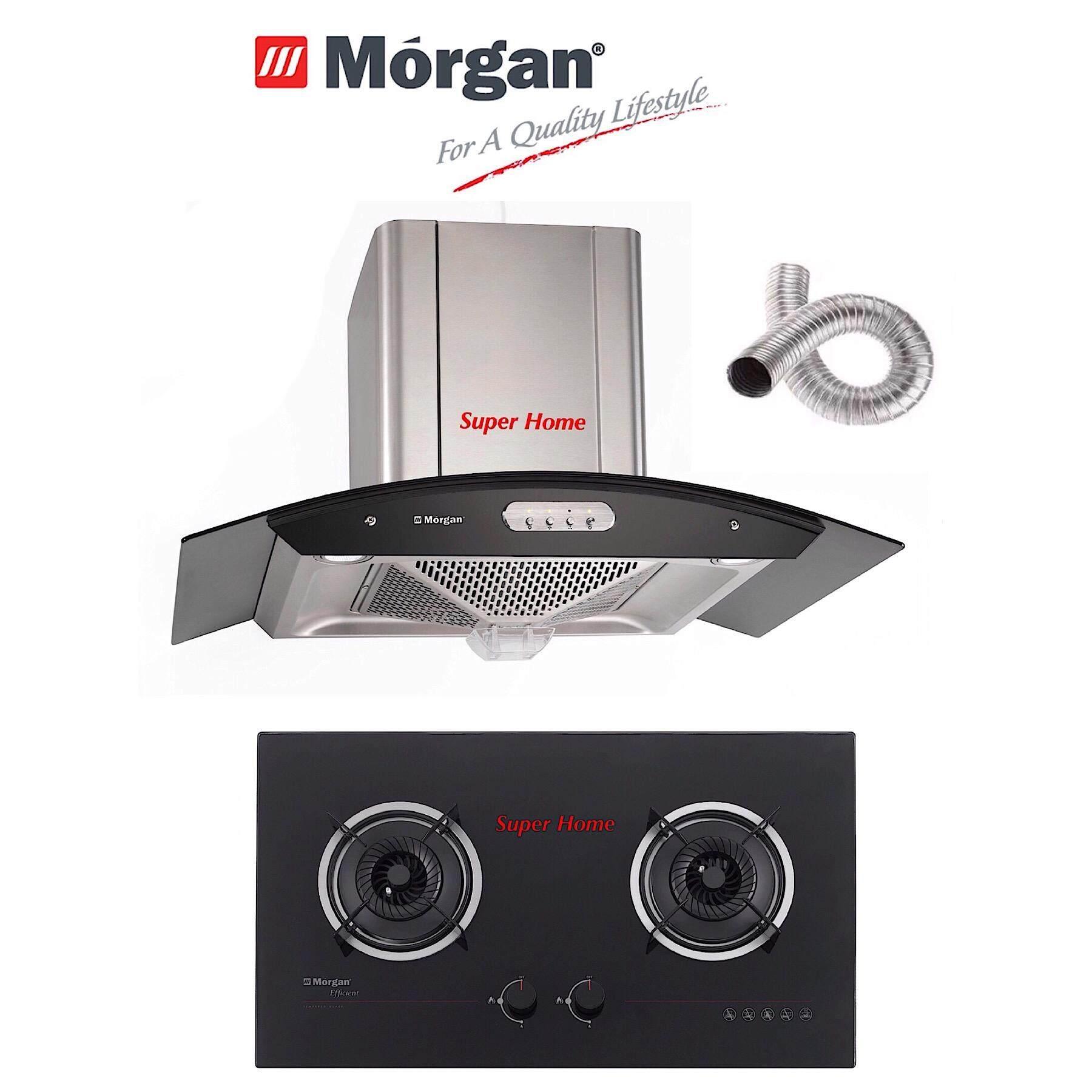 Morgan Designer Hood Mdh 920oc Built In Cooker Hob Mbh Gc1132bk