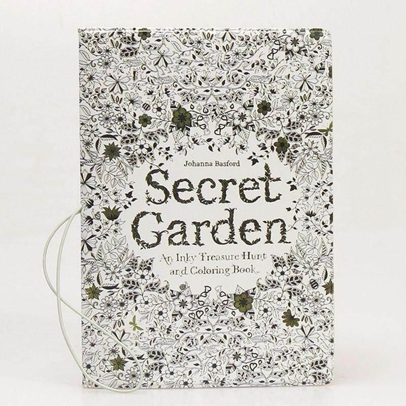 Passport Holder - Secret Garden