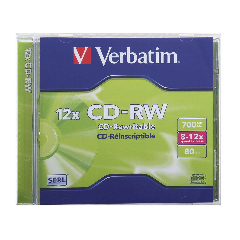 Verbatim CD-RW 700mb 80min 2 with Casing