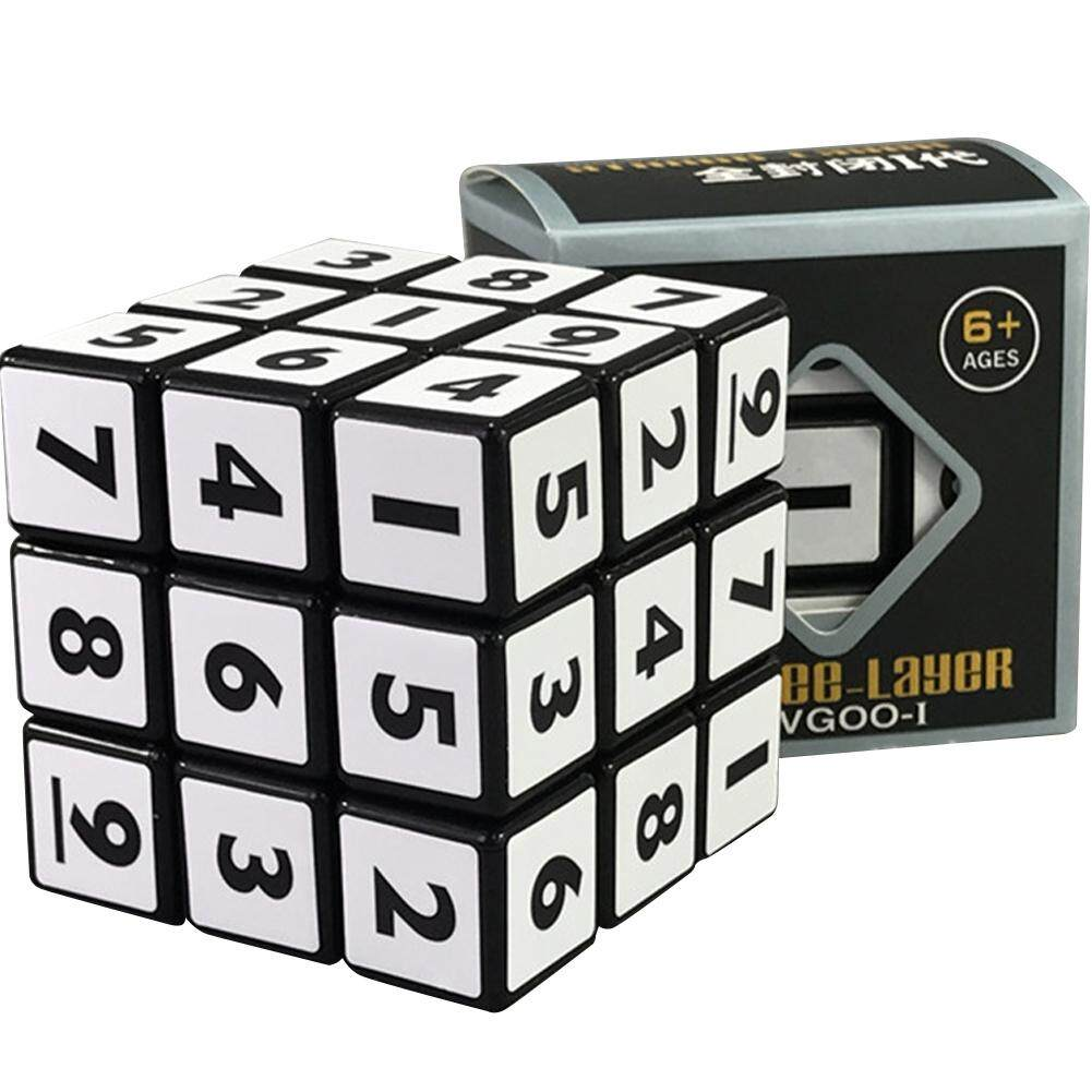 Hình ảnh Mini 3x3x3 High Speed Smart Cube Creative Magic Cube Intellectual Development Toy Kids Gift Color:Black QIMIAO - intl