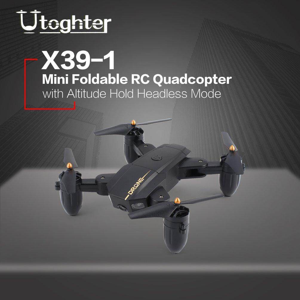 Hình ảnh ELEC Utoghter X39-1 Mini Foldable RC q*uadcopter Drone Altitude Hold Headless Mode