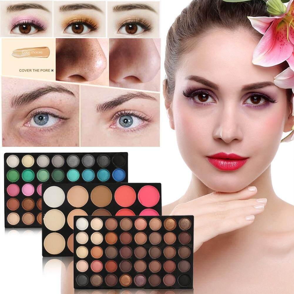 Chuyên nghiệp 80 Màu + 15 Màu Blusher & Che Khuyết Điểm Đường Viền Mắt Trang Điểm Bộ tốt nhất