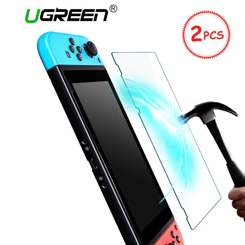 Ugrren 2pcs Screen Protector For Nintendo Switch Premium Tempered Glass Screen Protector Film For Nintendo Switch 9h Hardness With Install Tools By Ugreen Flagship Store