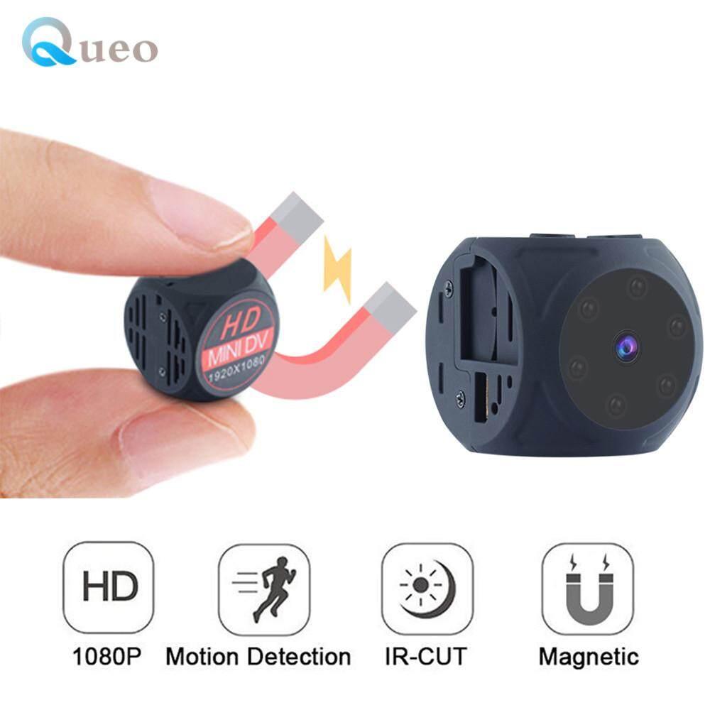 Queo MD21 1080 P HD Mini Kamera Video Olahraga Inframerah Modus Malam 140 ° Lebar Sudut DV Kamera Kecil