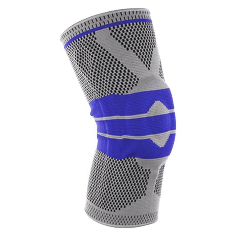 New Gray Elastic Knee Support Bracket Kneepad Adjustable Patella Knee Pad Basketball Safety Shoulder Strap Protective