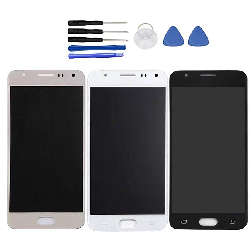 Untuk Samsung Galaxy On5 Lite G5700 G5520 G5510 Layar LCD + Layar Sentuh Pergantian Digital Sel Rakitan Telepon