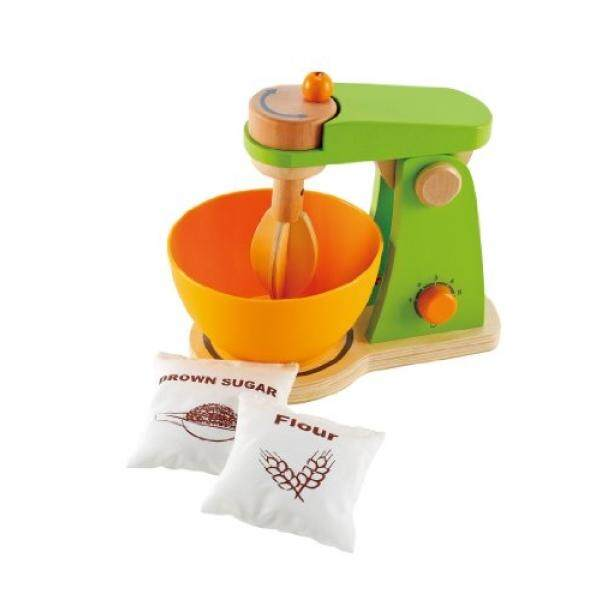 Hape Whip-It-Up Mixer Wooden Play Food Set and Accessories - intl
