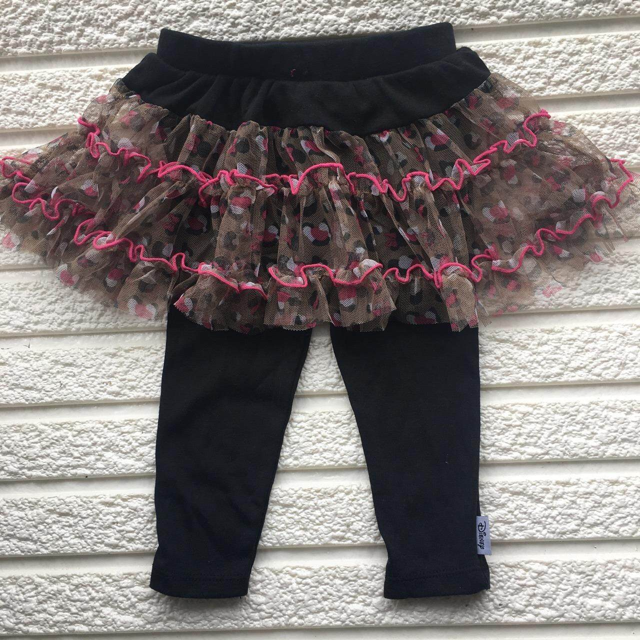 Disney Baby Girls Size Tutu Skirt with attached leggings/pants - Black