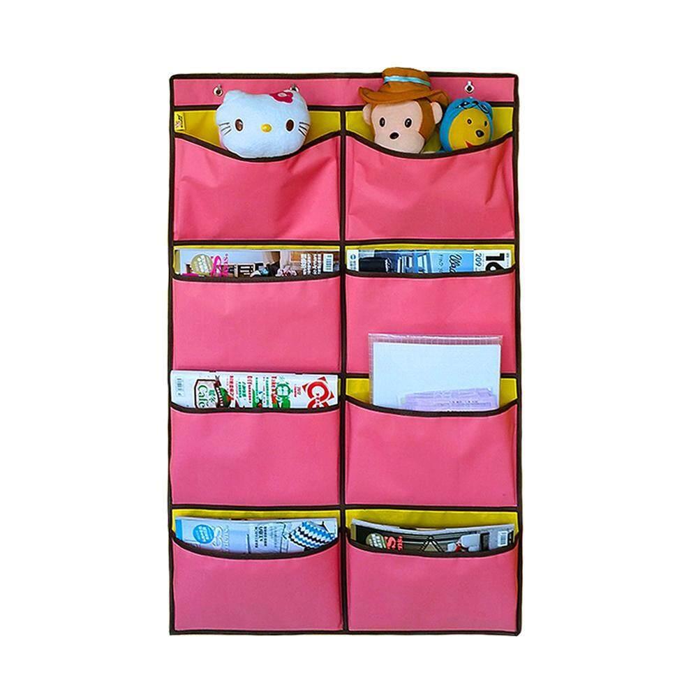 GoodGreat Hanging File Folders Book Rack, 7 Large Pockets Organiser for Multiple Storage, Mildew-proof Moisture-proof Oxford Cloth