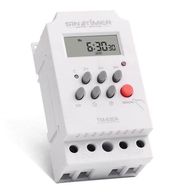 Faith sinotimer 12V 30A hàng tuần 7 ngày Công tắc thời gian lập trình kỹ thuật số điều khiển hẹn giờ cho thiết bị điện có đồng hồ báo thức