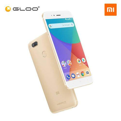 [ORIGINAL XIAOMI MALAYSIA] Mi A1 4GB+64GB Black / Gold / Rose Gold