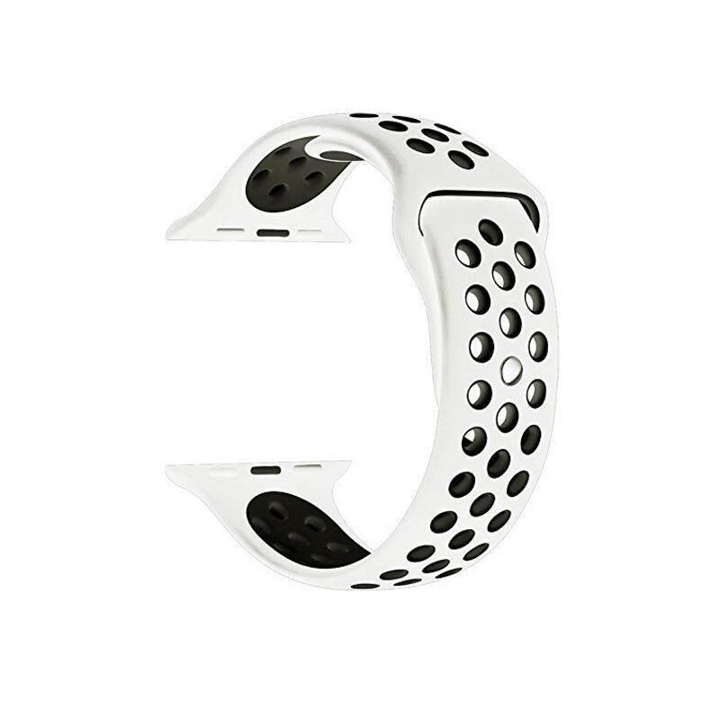 Detail Gambar Silikon Tali untuk Apple Jam Tangan Tali 42 Mm 38 Mm Gelang Olahraga Pergelangan Tangan Jam Tangan Sabuk Karet Tali Jam untuk IWatch 3 /2/1 ...
