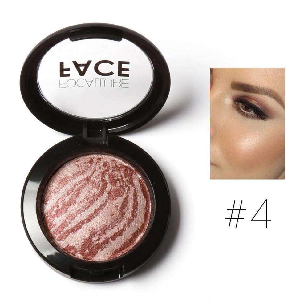 Focallure Baru Wajah Alami Bubuk Ditekan Dipanggang Blush Kosmetik #4-Intl