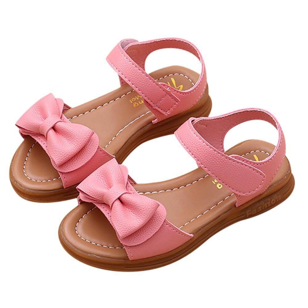 Radocie Bayi Anak-Anak Gadis Sandal Pita Non-Slip Sepatu Casual Putri By Radocie.