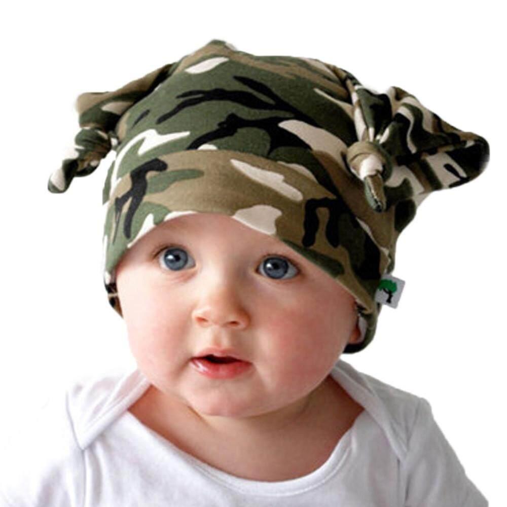 Tideshop Baru Bayi Bayi Baru Lahir Katun Anak Perempuan dan Laki-laki Beanie Tutup Topi