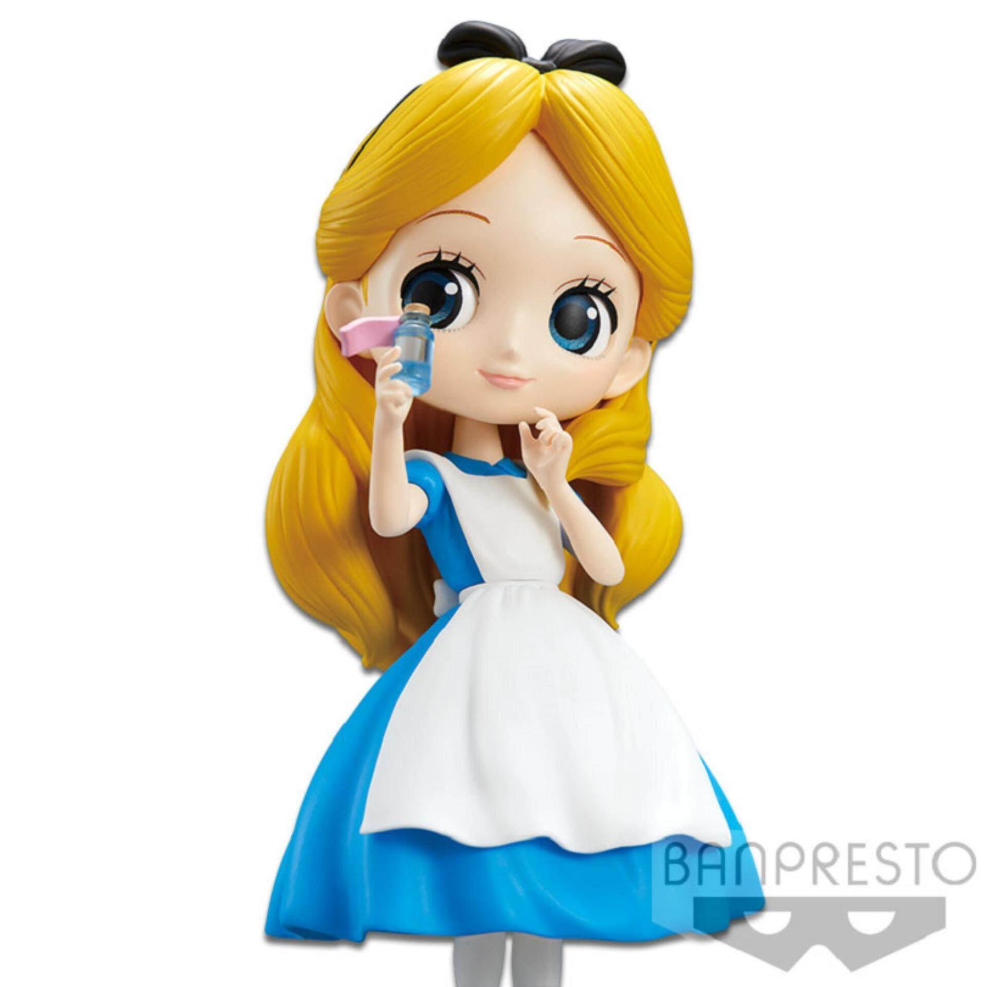 Banpresto Q Posket Disney Princess Figure Normal Version - Alice Thinking Time