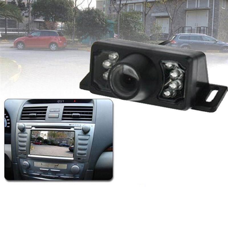 7 LED IR Inframerah Tahan Air Modus Malam Kabel Lensa Pendek DVD Belakang, dengan Scaleplate, dukungan Dipasang Di Mobil Dvd Navigator atau Monitor Mobil Lebar Sudut Pandang: 140 Derajat (YX002)-Intl