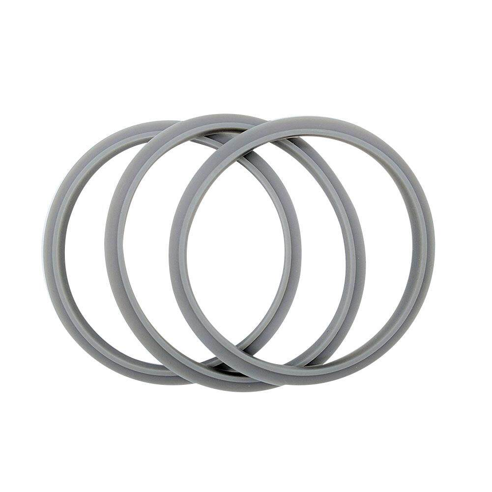 LumiParty Juicers Seal Ring Blendin Set of 3 Gaskets with Lip Sealing Element for 900W Blenders Juicer Base