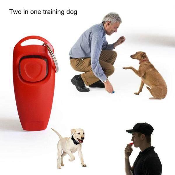 Huấn Luyện Chó Clicker Huấn Đen 2 trong 1 Đa chức năng Vật Nuôi Bấm Còi Huấn Luyện Chó Clicker Huấn với Móc Khóa Thú Cưng Con Chó Con huấn luyện Chó Sáo + Tặng Công Tắc