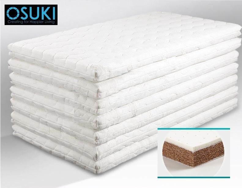 OSUKI Latex & Coconut Baby Cot Mattress 100 x 56cm (Cotton Surface)