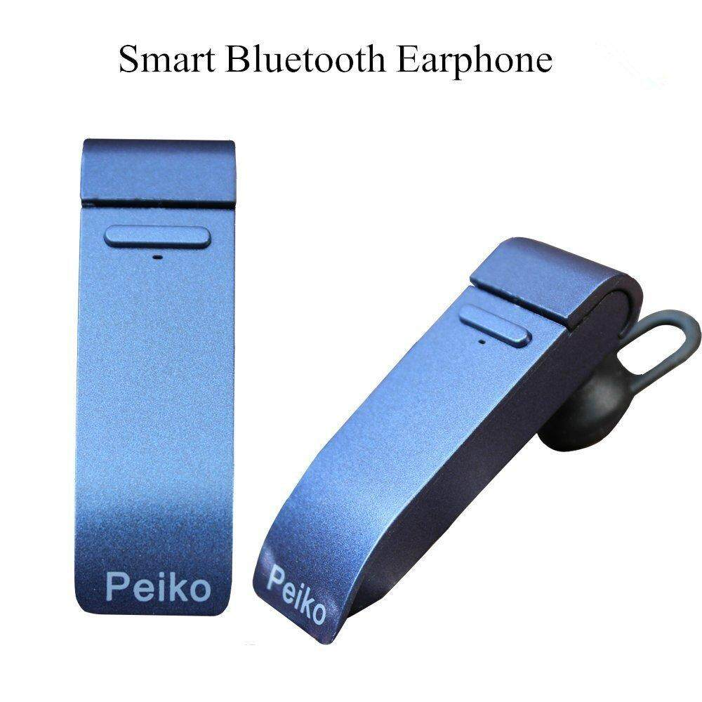 Peiko Microphone Smart Bluetooth Translator Headset 20 Languages Intelligent App Online Translation Wireless Bluetooth Earphone