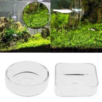 ราคาถูกที่สุด BolehDeals Set of 2, Aquarium Shrimp Feeding Food Dish Tray Feeder Container Fish Aquarium Feeder ( Square & Round Shape ) shock sale ...