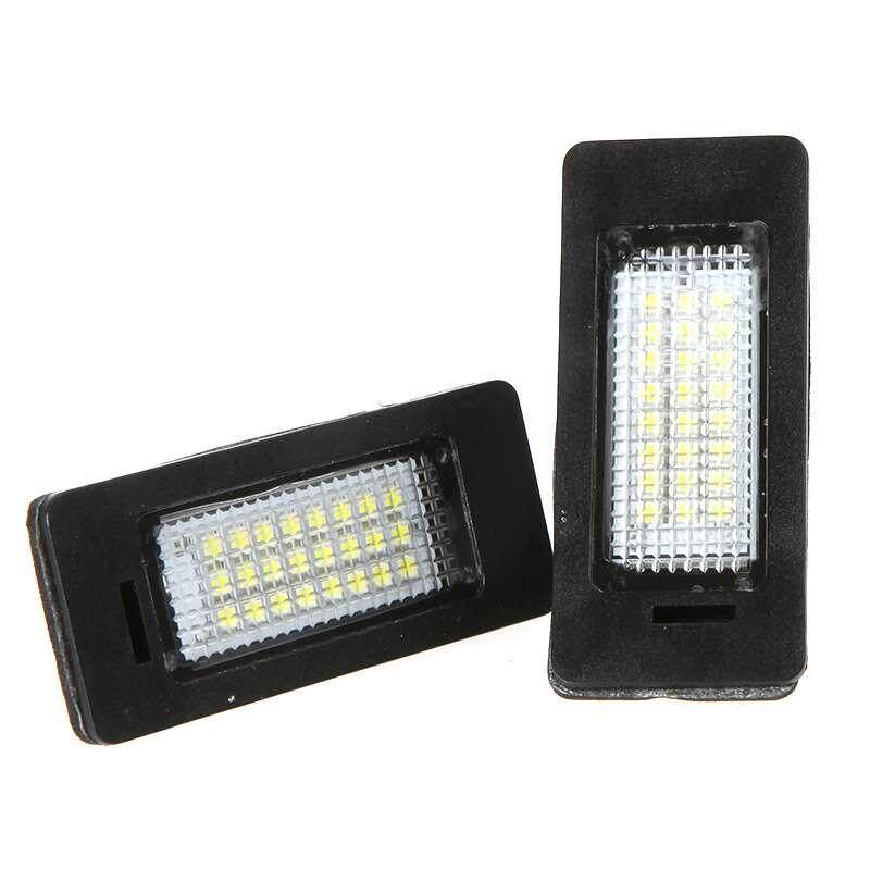 Sway LED License Number Plate Light Lamp SMD CANBUS for BMW E39 E60 E61 E90 5 Series - intl