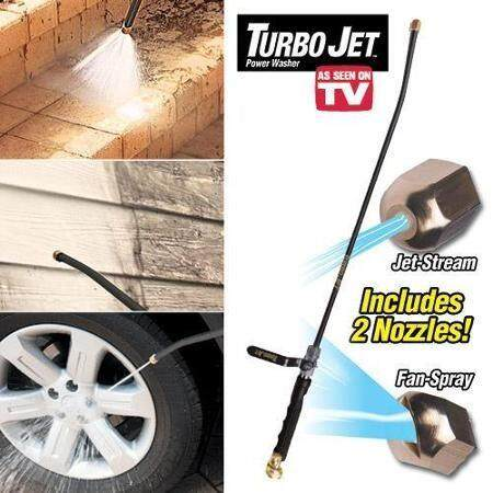 Turbo Water Jet Cleaning Solution As Seen On Tv Lazada