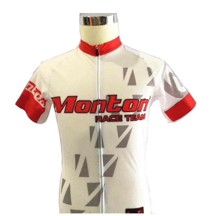 MONTON RACE TEAM JERSEY WHITE RED