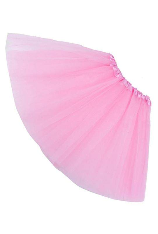 Women/adult Organza Dance Wear Tutu Ballet Pettiskirt Princess Party Skirt Pink By Lapurer.