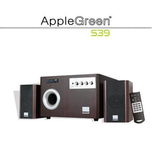 AppleGreen S39 60W 2.1CH Subwoofer Bluetooth Speaker (TV PC Notebook Handphone USB SD FM)
