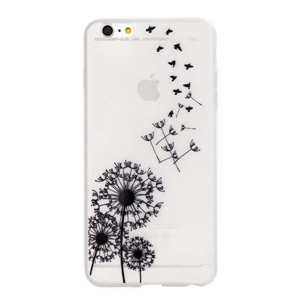 Noctilucence Berwarna Menggambar Pelindung Ponsel Cover Tahan Gores Shockproof TPU Casing Ponsel untuk iPhone 6 Plus
