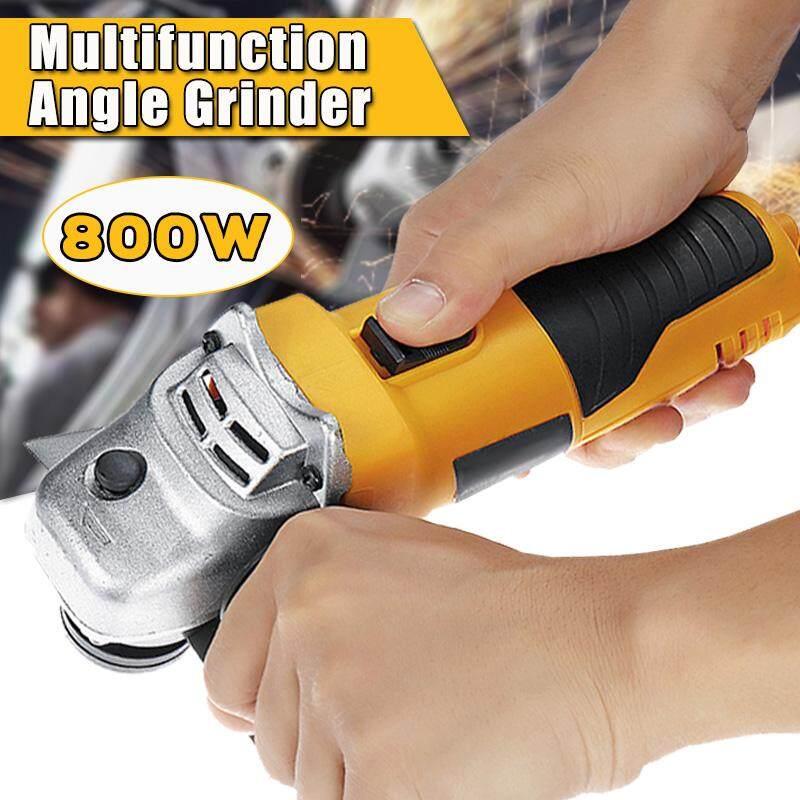 Electric Angle Grinder Cut Off Tool Polishing 110-220V 50-60Hz 800W 10000 RPM