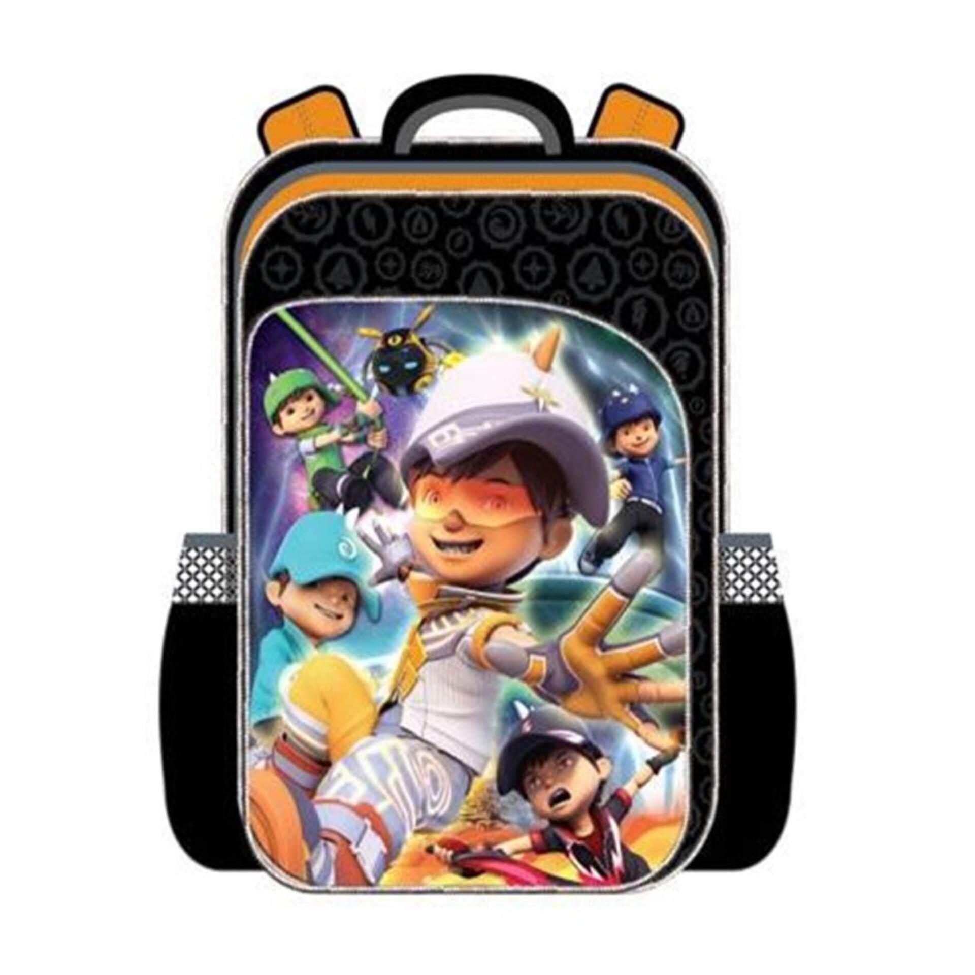 Boboiboy Galaxy Primary School Bag Backpack Boboiboy Solar