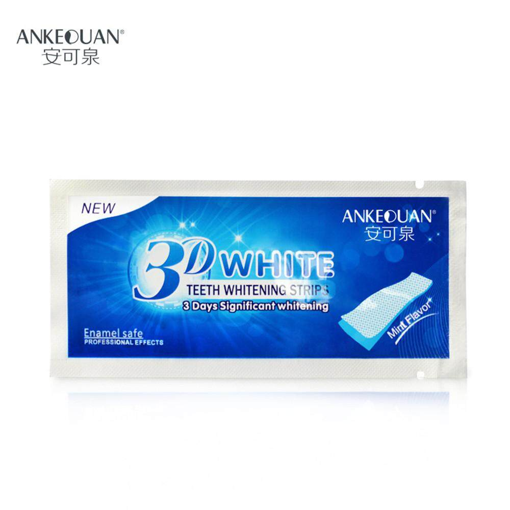 Beauty Hot Stain Removal Advanced Teeth Whitening Strips Double Elastic Gel Oral Health FashionTing