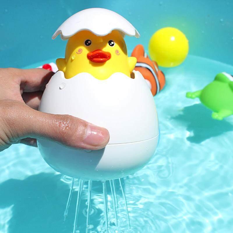 เด็กอาบน้ำเป็ดไข่เด็กทารกลอยของเล่นฝักบัว By Oriental Home.