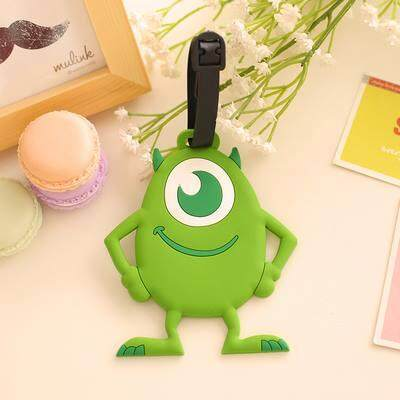Cute Monster Inc Mike Luggage Tag