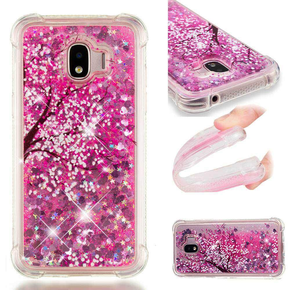 Case for Samsung Galaxy J2 Pro 2018 Liquid Flowing Quicksand Bling Glitter Diamond TPU Soft Case - intl