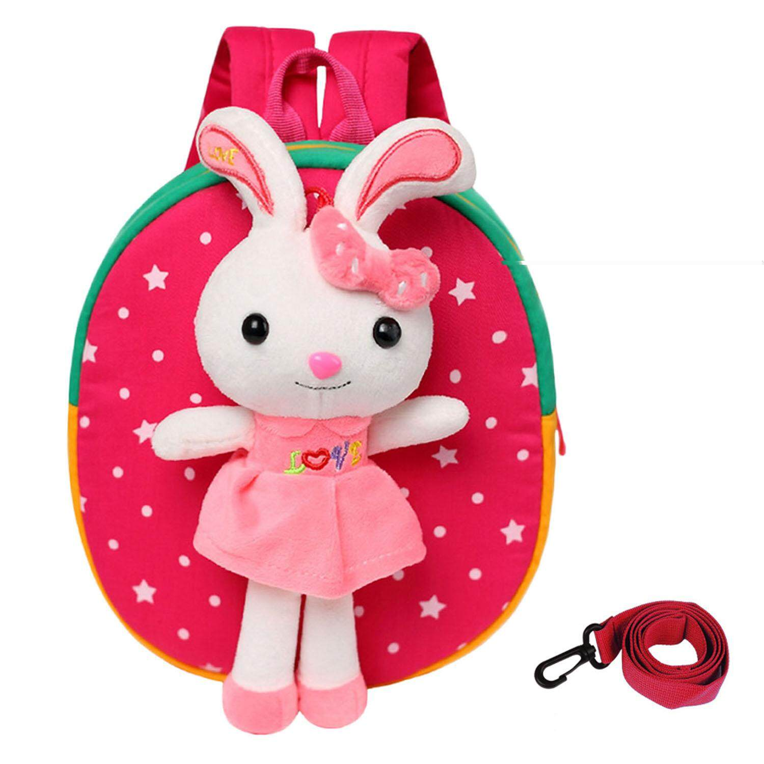 Boys Girls Kids Dinosaur Backpack Safety Anti-lost with Reins Shoulder Bag for Pre-school Kindergarten Outdoor