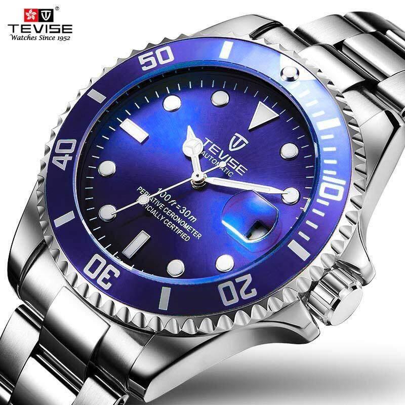b720da04ef9 TEVISE Automatic Mechanical Watches Men Watch Business Automatic Waterproof  Wristwatch luminous Male Clock Gift box