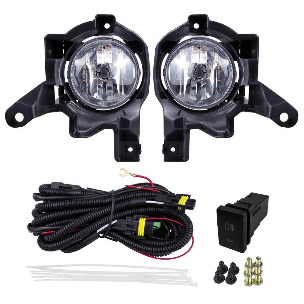 Untuk RAV4 2013 2014 2015 Lampu Kabut Set Pasang Lampu Halogen Mobil ABS 12 V 55 W Depan Mobil Styling Lampu