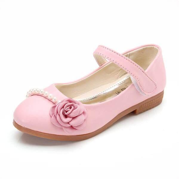 Giá bán Mới 2018 bé gái công chúa Giày đế mềm da giày trẻ em