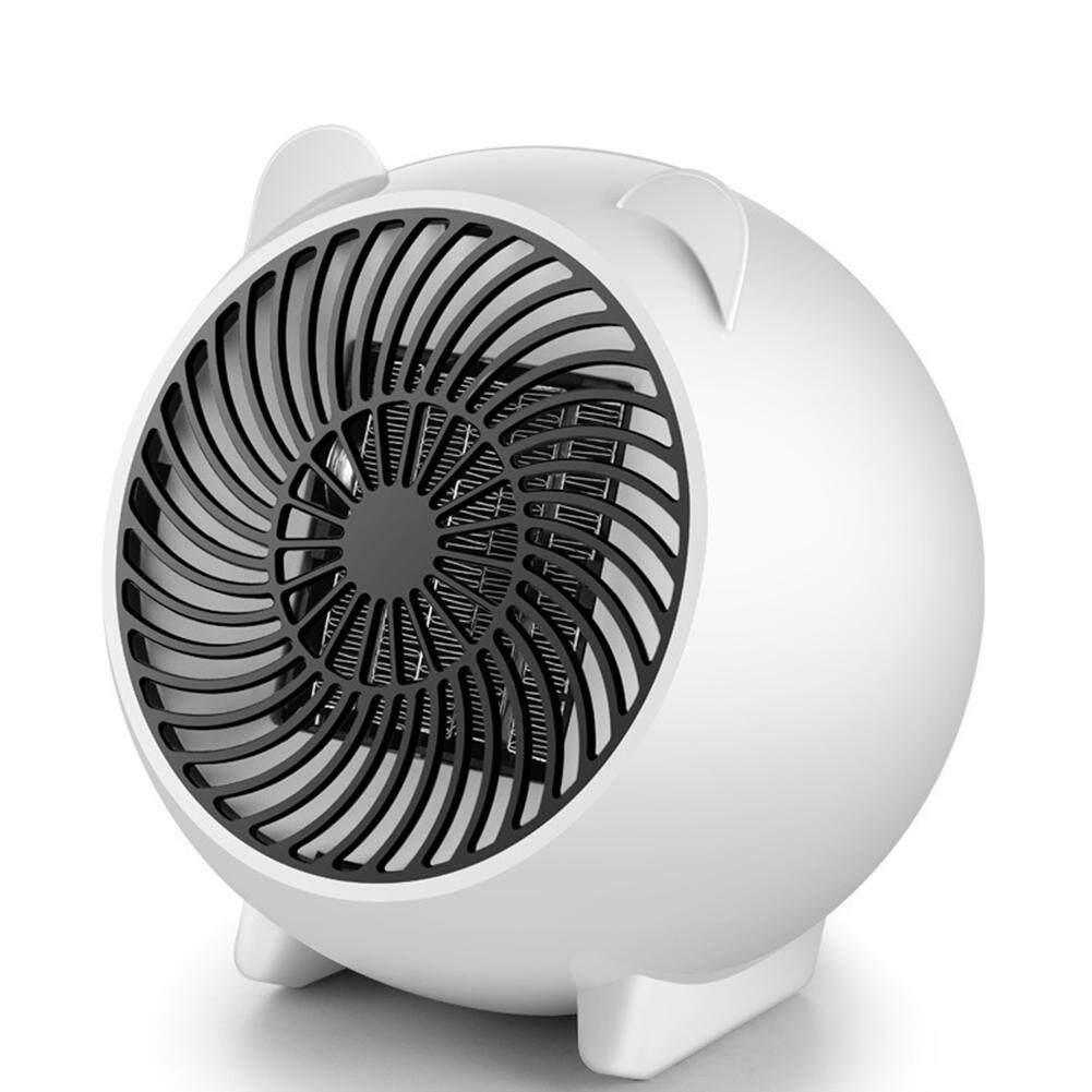 MG Portable Cartoon Mini Space Heater Electric Ceramic Air Radiator Fan Warm Blower Room Office Thermostat