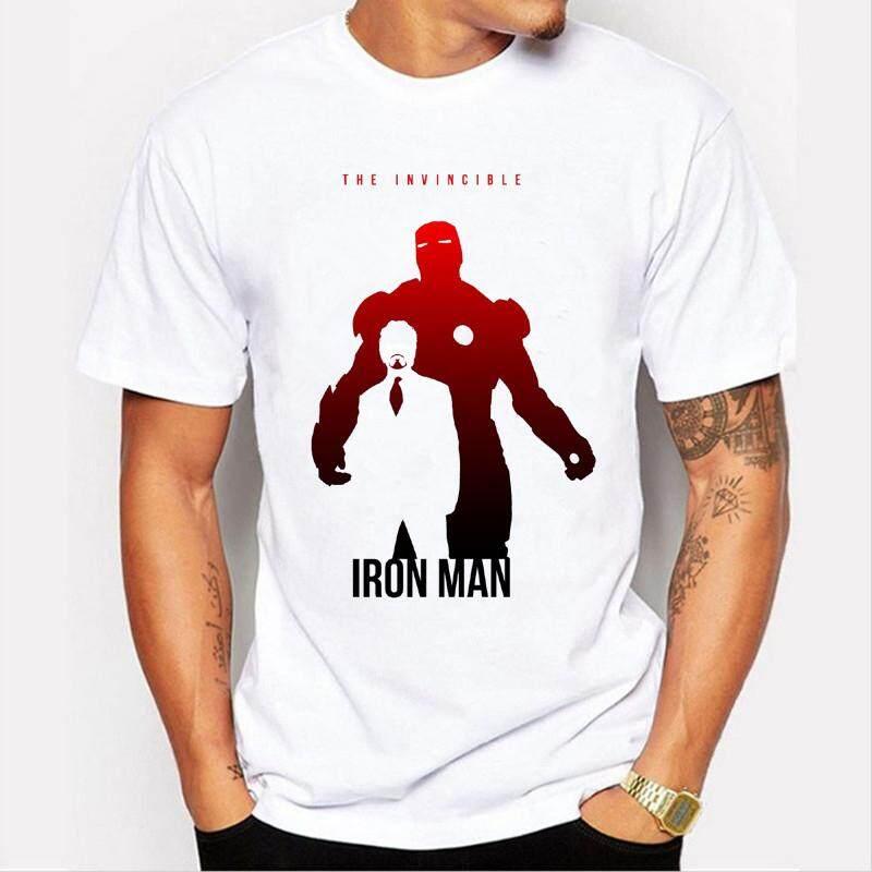 9dae3f5f 2019 Men Tshirt Captain America/Iron Man/Hulk/Thor Personalized print T-