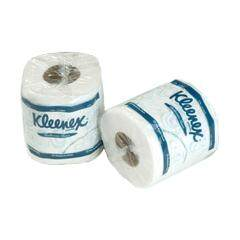 KLEENEX 2-Ply Small Roll Tissue (Single Wrapped) - 10rolls x 220sheets