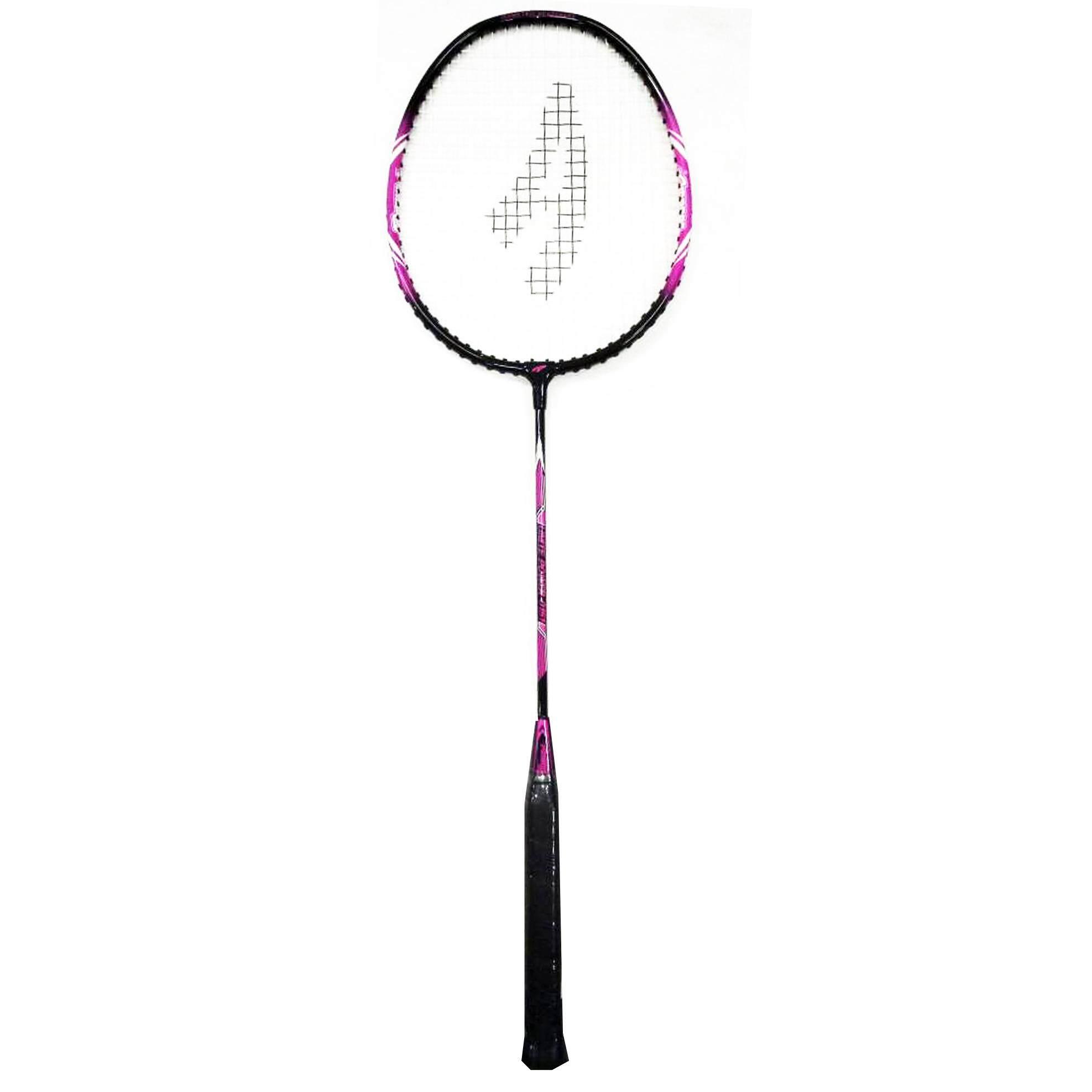 Ambros Unite Power T-Joint Badminton Racket - Black/Purple